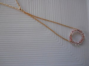 Healthy Hearts Long 14k Gold-filled Necklace with Chain Pendant