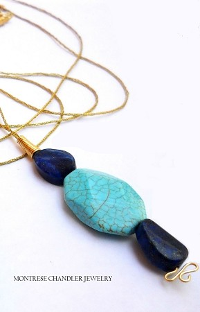 Lapis and Turquoise Necklace