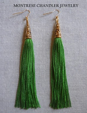 Contemporary Fringe Earrings